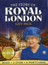 THE STORY OF ROYAL LONDON GIFT PACK - BOOK, 2 DVD'S & 5 POSTCARDS