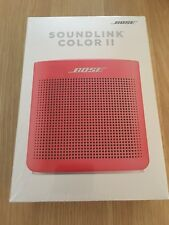 Brand New Bose SoundLink Color Bluetooth Speaker II - Red.  Free Shipping.