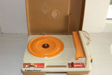 Vintage 1978 Fisher-Price Phonograph Turntable Record Player Model 825
