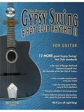 Gypsy Swing & Hot Club Rhythm II For Guitar Learn to Play MUSIC BOOK & CD