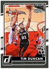 Tim Duncan - Spurs #105 Donruss NBA 2015-16 Basketball Trade Card (C1569)