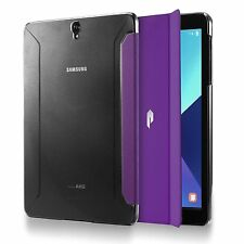 For Samsung Galaxy Tab S3 9.7 Case Purple Poetic【Slimline】Slim-Fit Trifold Cover