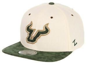 SOUTH FLORIDA BULLS USF NCAA VINTAGE FLAT BILL SNAPBACK RETRO Z11 CAP HAT NEW!