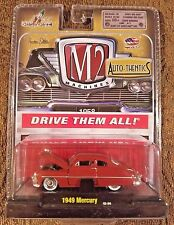 M2 Machines 1949 Mercury Burgundy Die Cast Car 1:64 Auto-Thentics