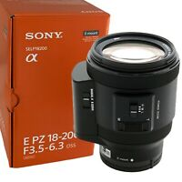 NEW SONY E PZ 18-200mm F3.5-6.3 OSS Lens for E Mount APS-C (SELP18200)