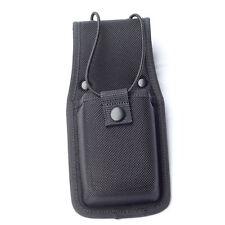 Molded Universal Radio Pouch Holder Officer 1680D Nylon Case Belt Swivel Black