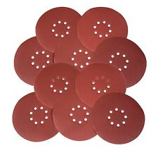 WEN 6369SP120 Drywall Sander 120-Grit Hook and Loop 9-Inch Sandpaper, 10-Pack