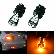 3000k Amber 3156 3056 21-SMD CANbus Error Free LED Bulbs For Turn Signal Lights