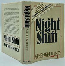 1978 Stephen King Night Shift Bce Hcdj Gutter Code Aa4