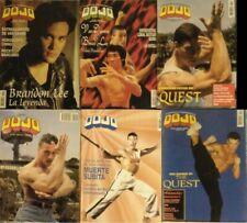 Jean Claude Van Damme - Seis revistas de artes marciales ''Dojo'' (1988-1995)