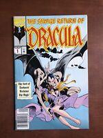 The Savage Return of Dracula #1 (1992) 7.5 VF Marvel Key Issue Comic Book