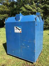 1300L Bunded Steel Fuel Oil  Diesel Gas Tank
