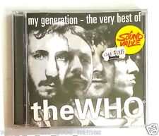 CD - MY GENERATION - VERY BEST OF THE WHO - Polydor 1996 / Daltrey Townshend