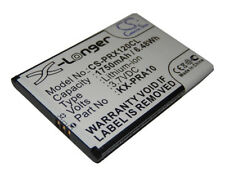 Batterie 1750mAh pour Panasonic KX-PRX120GW, KX-PRX150, KX-PRX150GW, KX-PRA10