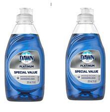 2 x Dawn Ultra Dishwashing Liquid Dish Soap Platinum 7 Oz. Brand New Special