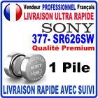 Pile 377-SR626SW AG4 1.55V SONY Pile bouton QUALITÉ PREMIUM SONY MADE IN JAPAN