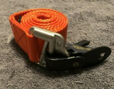 Polo Ralph Lauren (RXL) Orange Nylon Metal Buckle Golf Belt Size: XL - MSRP $85