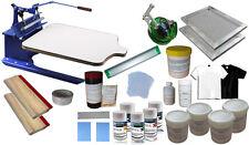 Sale 1-1 Color Screen Printing Kit DIY Silk Screen Print Supply Kit Budget Price