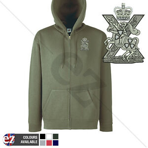 Fife and Forfar Yeomanry - Hoodie Zipped + Personalisation