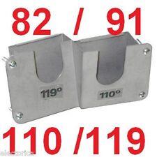 DUAL TWIN LNB BRACKET SATELLITE 119/110 82/91 MOUNT DISH 500 118 FTA 18 DISHNET
