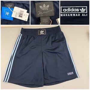 Rare Adidas Muhammad Ali Shorts Men Size XL Blue NEW W TAGS