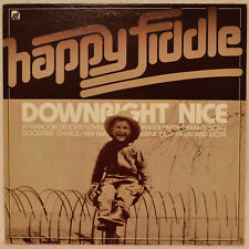 Happy Fiddle Downright Nice LP NM Goodtime Charlie Danny's Song Garden Party