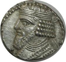 T9277 Rare KINGS PARTHIA Gotarzes II 40-51 AD Tetradrachm Seleukeia Tigris mint