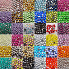 Hotfix Iron-On Rhinestones DMC Crystal FlatBack Seed Bead Much Colors and Sizes