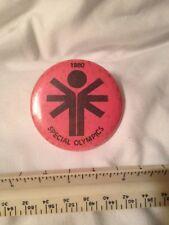 SPECIAL OLYMPICS pin - 1980