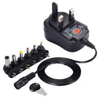 Universal AC/DC Power Supply Adaptor Plug Stecker Charger Adaptor 3v 7.5v 9v 12v