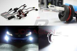 9004/Hb1 6000K White Single Filament 55W Slim AC Ballast HID Conversion Kit