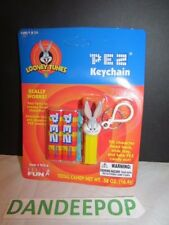 Pez Candy Keychain New sealed Looney Tunes Bugs Bunny C. 2000 #933-0