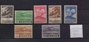 ! Iceland 1948. Stamp. YT#208/214. €60.00!