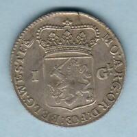 Netherlands - West Friesland.  1764 1 Gulden..  gVF