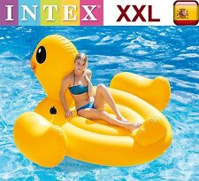 FLOTADOR GIGANTE HINCHABLE PATO INTEX DIVERSION PARA PISCINA PLAYA