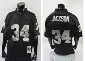BO.JACKSON 34 Los Angeles Raiders 1987 Throwback NFL Jersey Mitchell Ness 48-XL