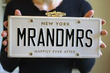 Kate Spade Wedding Belles License Plate Clutch Mr. and Mrs. - Wedding Perfect