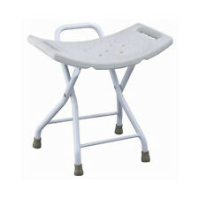 Portable Folding Shower Chair Bathtub Seat without Back Lightweight Shower Chair