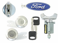 Ford Bronco 1992-1995 - Ignition Lock & Door Lock Cylinder Set w/ 2 New Keys C