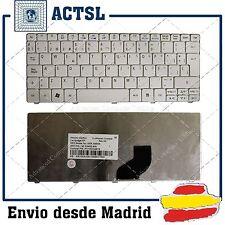 TECLADO ACER ASPIRE ONE PAV80 PACKARD BELL BLANCO NUEVO EN ESPAÑOL!!!
