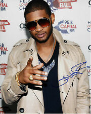 SINGER USHER RAYMOND HAND SIGNED AUTHENTIC 8X10 PHOTO D w/COA ATLANTA R&B LEGEND
