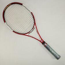 New listing Wilson Ncode n code Six-One 95 Head 16x18 10.9oz 4 1/2 grip Tennis Racquet