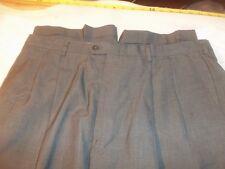 haggar black label 38 x 29 pleated & cuffs 65% dacron polyester 35% wool #372
