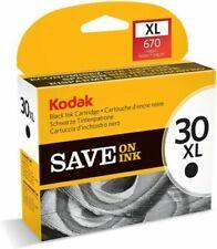 NEW Kodak 30 XL Black Ink Cartridge 670 Pages FAST FREE SHIP