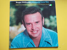 "ROGER WILLIAMS I honestly love you - vinile - lp- 33 giri- 12"" NMINT"