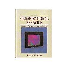 Organizational Behavior: Concepts, Controversies,