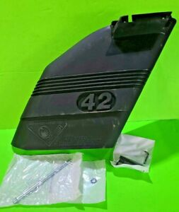 """NEW 42"""" DEFLECTOR SHIELD W/MOUNTING HARDWARE 130968 532130968 FOR CRAFTSMAN"""