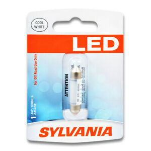 Sylvania SYLED License Light Bulb for Ford Fusion Taurus Focus GT Contour wc