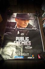 PUBLIC ENEMIES Huge Giant 4x6 ft D/S Movie Poster Original 2009