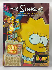 The Simpsons Complete Season 9 Collector's Edition DVD Boxed Set